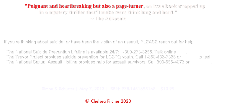"""Poignant and heartbreaking but also a page-turner, an issue book wrapped up 